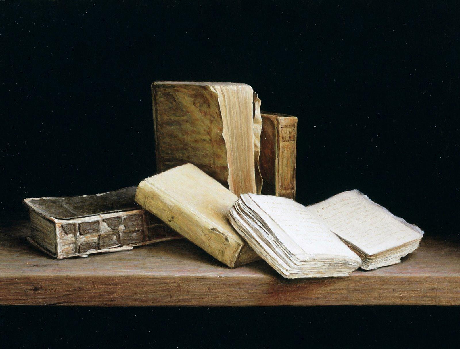 Libros viejos la horca - Librerias de pared ...