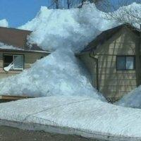 Tsunami de hielo: una escena bella y aterradora