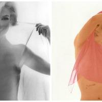 Marilyn Monroe desnuda bajo el zoom de Bert Stern