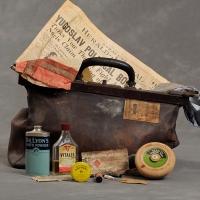 Las maletas abandonadas del psiquiátrico de Willard, NY.