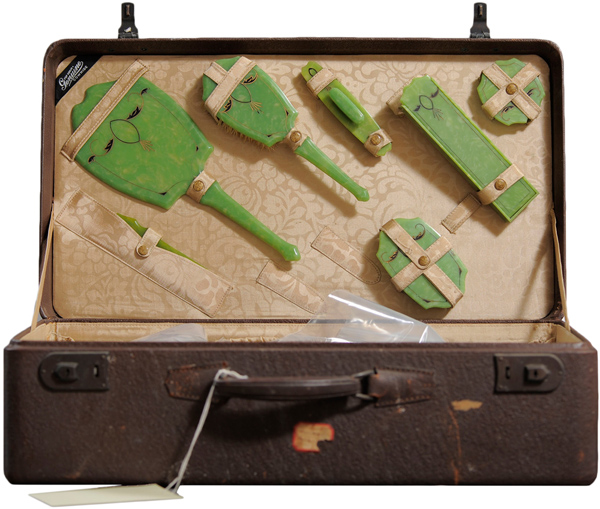 Freda Bowker's Willard Suitcase