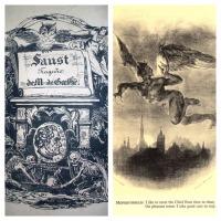 """Eugène Delacroix Ilustra Fausto de Goethe: """"Uno de los más grandes libros ilustrados"""""""