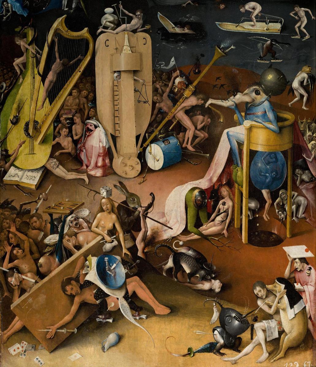 """Enlace al infierno: un tour interactivo por """"El Jardín de las Delicias"""" de Hieronymus Bosch"""